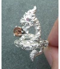แหวนพญานาค พระอาจารย์โอ พุทโธรักษา พุทธสถานวิหารธรรมราช จ.เพชรบูรณ์
