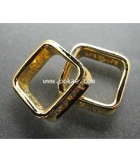 แหวนสมปรารถนา (กะไหล่ทอง) พระอาจารย์โอ พุทโธรักษา พุทธสถานวิหารธรรมราช จ.เพชรบูรณ์
