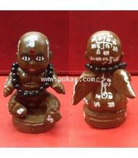 กุมารกิมท้ง สีน้ำตาล (บูชา) หลวงปู่ครูบาคำเป็ง อาศรมสุขาวดีวราราม จ.กำแพงเพชร