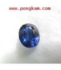 (ขายแล้วครับ)พลอยสด ไคยาไนท์ kyanite Africa เนื้อพลอยสวย สีไพลินน้ำงาม ไฟแรง พร้อมน้ำหนัก 3.79 กะรัต