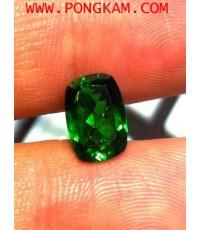 พลอยสดกรีนไดออฟไซด์ จากรัสเซีย Russia Green Diopside
