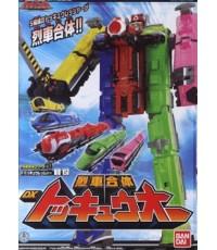 หุ่นขบวนการเซนไท ทคคิวเจอร์ DX โทคิวโอ Ressha-Gattai 1 - 5 DX ToQ-oh