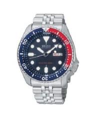 นาฬิกาผู้ชาย SEIKO รุ่น SKX009K2 สายเหล็ก ระบบออโต้
