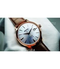 นาฬิกาผู้ชาย SEIKO นาฬิกาเดรส Presage SRPC46J MANHATTAN sky cocktail Limited edition 330 เรือน สายแส