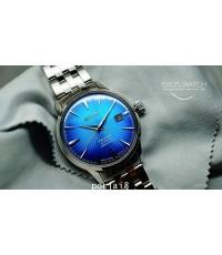 นาฬิกาผู้ชาย SEIKO นาฬิกาเดรส Presage Blue planet SRPC45J cocktail Limited edition 350 เรือน สายแสตน