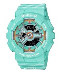 นาฬิกาผู้หญิง BABY-G รุ่น BA-110CH-3A สีฟ้า