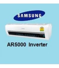 แอร์Samsung ซัมซุงแอร์ AR5000 Inverter รุ่น AR18HVSSLWK แอร์ใหม่2014