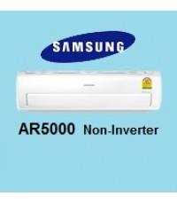 แอร์Samsung แอร์ซัมซุง AR5000 Non Inverter รุ่น AR13HCFSQWKNST แอร์ใหม่