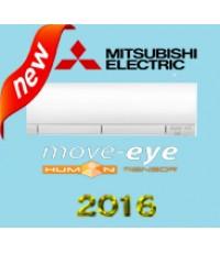 แอร์ Mitsubishi MSZ-FM13VF รุ่น Move Eye  น้ำยาแอร์ R32 แอร์ใหม่2016