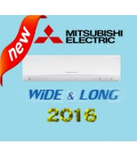 แอร์ Mitsubishi MS-GK36VA รุ่น WIDE LONG แอร์ใหม่2016