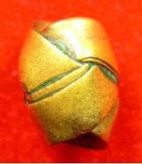 ประคำคาบเนื้อทองเหลือง ลพ.เดิม วัดหนองโพ -- องค์ครู