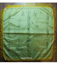 ผ้ายันต์เปิดโลก ลพ.สนิท วัดลำบัวลอย