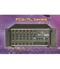 เครื่องขยายเสียงปรับแต่งในตัวและLineส่ง70-100Vรุ่นSeries 7Lใช้กับระบบเสียงตามสายโดยตรงมี500W-1000W