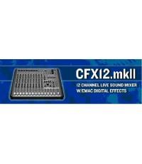 MIXER เครื่องปรุงแต่งและรวมเสียงมี effectในตัวของ MACKIE รุ่น CFX12 MKII,CFX16MKII,CFX20MKII