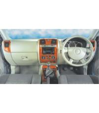 ชุดแต่งคอนโซนลายไม้และลายแคปล่าห์ สำหรับรถกระบะ Dmax รุ่น02-ปัจจุบัน
