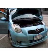 ลูกค้า Yaris-สีฟ้า นำรถมาติดกรองอากาศ ฯลฯ