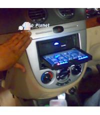 เจ้าของรถ Optra ป้ายแดงนำรถมาติดเครื่องเล่น DVD แบบ 2 Din