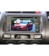 จอ Touch Screen TV+DVD+USB+MP4 สำหรับ Jazz, City
