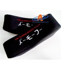 หมอนรองคอ สไตล์ญี่ปุ่น-สีดำ