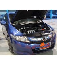 Honda City 2009 ติดเครื่องเสียงชุดโปรโมชั่น ProSave3