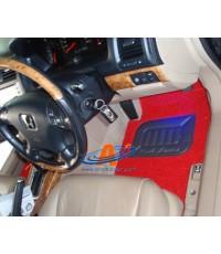 ยางปูพื้น Honda Accord 2003-2005 เส้นใยไวนิล-สีแดงสด