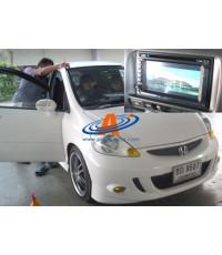 เครื่องเสียง Jazz 2006 จอ TV TouchScreen 2Din พร้อม GPS นำทาง