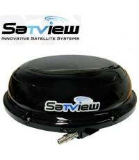 จานดาวเทียมติดรถและเรือ SatView SV-SAT999M ไม่ต้องใช้การ์ด ดูฟรีตลอดชีพ
