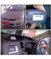 Honda Civic2013 ปลดล็อคจอGPS จากศูนย์ OEM