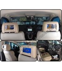 New CRV 2014 มาติดจอฝังหมอนแบบมีเครื่องเล่น ในตัว เพิ่มจากจอหน้าของศูนย์ Honda