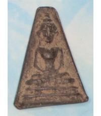 พระผงสุพรรณ วัดพระศรีฯ สุพรรณบุรี รุ่นจงอางศึก(สีดำ)สุพรรณบุรี