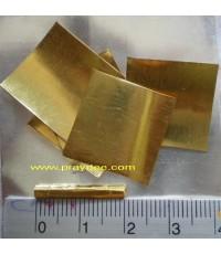 ตะกรุดสาริกาป้อนเหยื่อ(Maha sane Gold)เนื้อทองคำ รุ่นแรก