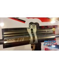 YSS steering damper โช้คกันสะบัด Racing Steering Damper Platinum color 78mm. Stroke