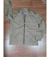 JK0043 เสื้อแจ๊กเก็ต ผ้าcotton