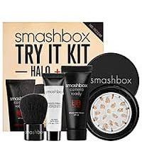สินค้าพร้อมส่ง+++Smashbox Try It Kit : Halo+BB สี Fair มาพร้อมแปรงคาบูกิในกล่องค่ะ
