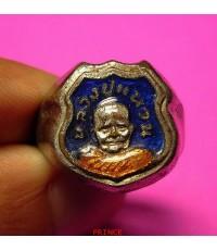 แหวนหลวงปู่แหวน สุจิณโณ วัดดอยแม่ปั๋ง จังหวัดเชียงใหม่ ลงยา สวยมากๆ