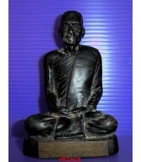 รูปหล่อบูชาพระพุทธวิริยากร (จิตร ฉันโน) วัดสัตตนารถ จ.ราชบูรี ปี 2516 หน้าตัก 2 นิ้ว หล่อหนา สภาพสวย