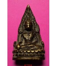 พระพุทธชินราชหล่อโบราณอุดกริ่ง วัดไชยชุมพลชนะสงคราม (วัดใต้) จ.กาญจนบุรี ปี 2510 หายาก สภาพสวยมากๆ