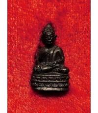 พระชัยวัฒน์เจ้าคุณโพธิญาณ หลวงพ่อชา สุภทฺโท วัดหนองป่าพง จ.อุบลราชธานี เนื้อนวะ ตอกโค้ด ปี 22 หายาก
