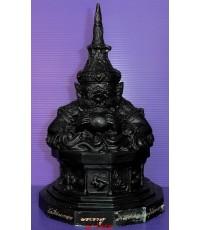 พระบูชาราหูตำหรับหลวงพ่อน้อย วัดศีรษะทอง จ.นครปฐม รุ่น 12 นักษัตริย์ ยุคเก่า ฐานสูง หายากมากๆ