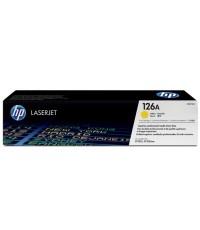 HP 126A Yellow LaserJet Print Cartridge CE312A