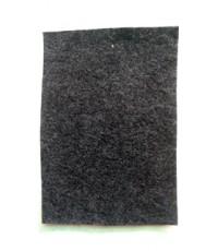 พรมอัดเรียบ สีเทาดำ รุ่น PT020 หนา 4 มิล กว้าง 1.5 เมตร