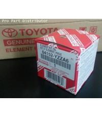 ไส้กรองนํ้ามันเครื่องรถยนต์ TOYOTA ACV40 PASSO อะไหล่แท้รถยนต์โตโยต้า (รหัสอะไหล่แท้ 04152-YZZA6)