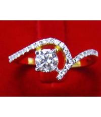 แหวนเพชร 0.47 ct ทอง 2.89 กรัม