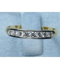 แหวนเพชร 0.24 ct ทอง 2.5 กรัม