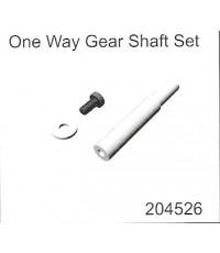 One Way Gear Shaft Set