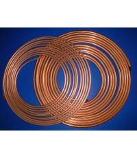 ท่อทองแดงม้วน(บาง)