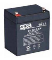 แบตเตอรี่แห้ง SPA สปา รุ่น SL12-5.5AH (12V 5.5AH)