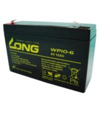 แบตเตอรี่แห้ง LONG รุ่น WP10-6 (6V-10AH)
