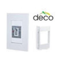 กล่องสำหรับเซฟตี้เบรคเกอร์แบบฝัง สำหรับรุ่น deco series W31SBF