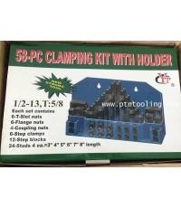 ชุุด Clamping Kit ขนาด 1/2 - 13, T : 5/8